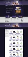 Aquarel - e-commerce webdesign by Funialstwo