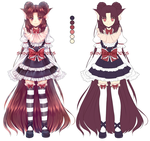 Fullbody adoptable AUCTION [OPEN] 2 days left by ShineArtworks