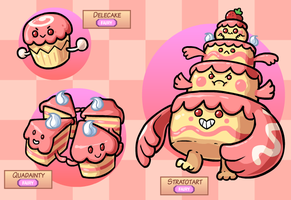 Fakemon: Sugar Stacks by The-Knick