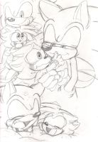 Papa Son moments: Sonic n Shadic by Narcotize-Nagini