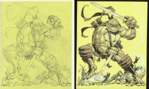 Leo pencils to inks by MichaelDooney