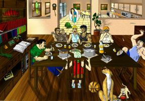 The Last Supper - Colors by Akhilla