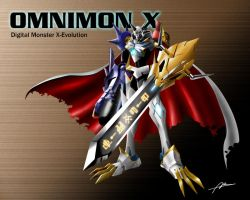 Digimon Omnimon by Abremson