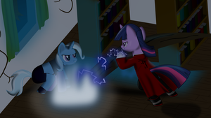 Twilight VS Trixie FMA style by sakatagintoki117