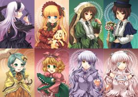 Rozen Maiden 2nd Collection by kuridoki