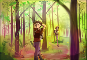 Forest Trek by zurisu