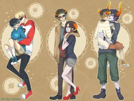 homestuck OTP by offlocked