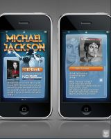 Projet Iphone Michael Jackson by JFDC