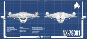 Legacy Mk 2 Fore And Aft Plans by Galen82