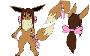 Nai as an Eevee Ref by Ninaiso