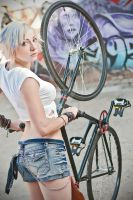 Jin's Fixie by KyleBasile