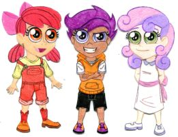 MLP - Human!CMC by Jackie-Chaos-Bunny