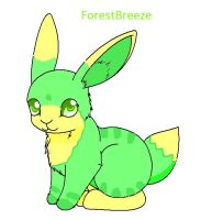 ForestBreeze the Rabbit by SquirrelBelly
