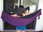 Sunset Color Affection Shawl by Jamethial