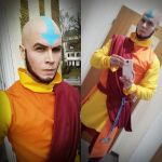Adult Aang - Avatar - Cosplay by Elffi