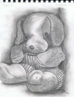 Stuffed Puppy by Narzaria