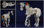 Bionicle MOC: Unicorn by Rahiden