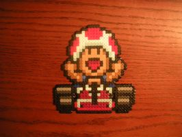 Toad - Super Mario Kart by TheChairSlayer