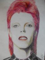 David Bowie by LaPasciutta