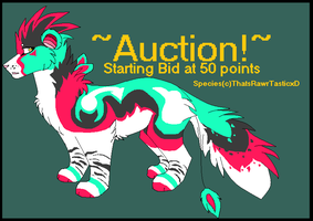 Wuzzle Auction [closed] by opadopts
