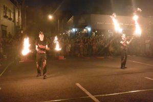Ignite the Night Fire/Food Fest,Two Handed Flamin4 by Miss-Tbones