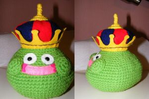 King Cureslime Amigurumi by Shuko-chan