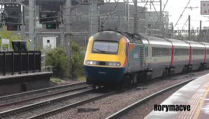 East Midlands Trains 43054 at Alexandra Palace by The-Transport-Guild
