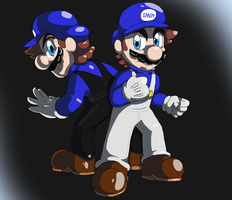 SMG4 and SMG3 by xXSKY64Xx