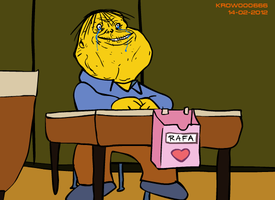 Rafa Gorgory forever alone by krow000666