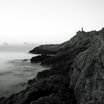 Alone on the cliff by AntonioAndrosiglio