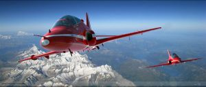 Red Arrows by GrahamTG