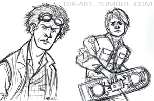 BttF Sketches Tumblr by Vega-Three