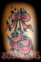 cherry by gil893tattoos
