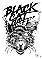 Black Cat Cafe by dnewlenox