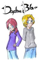 Daphne and Blair Contest Entry by PhoenixG