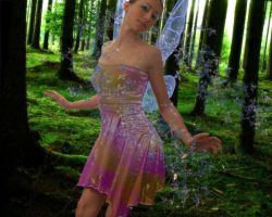 Fairy of the Woods by GrimAngel
