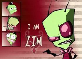 Zim Wallpaper by Invader-Johnny
