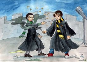 Milo and Eric - Wand VS potions by Alkanet