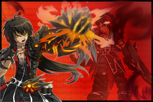 Veteran Commander [Raven ~Elsword~] Wallpaper by KoshiX3