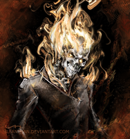 Ghost Rider by ILLanthan