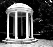 The Old Well of Chapel Hill by undinesfire