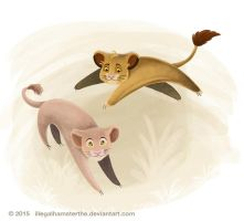 Disney challenge - Lion king  :) by IllegalHamsterThe