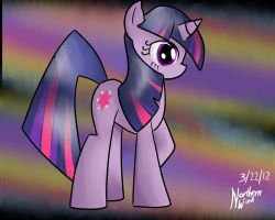just a quick Twilight Sparkle by Zephyter0