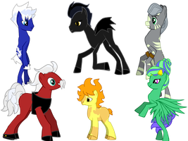 Rise Of The Ponies by AnyCarRP-JackFrost