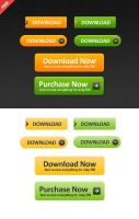FREE WEB BUTTONS by FreePSDDownload
