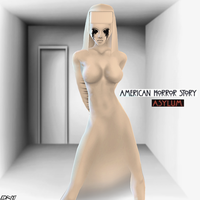 IMVUart: A.H.S Asylum_White Latex Nun by Krypto4CatSuits