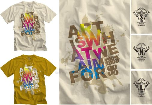 art is what we aim for? by st1666
