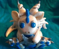 Baby Star Dragon - top by CelestialCreatures