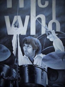 Keith Moon by Paparaw
