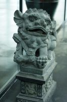 Chinese Statue 1 by Stichflamme-Stock